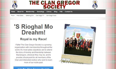 The Clan Gregor Society