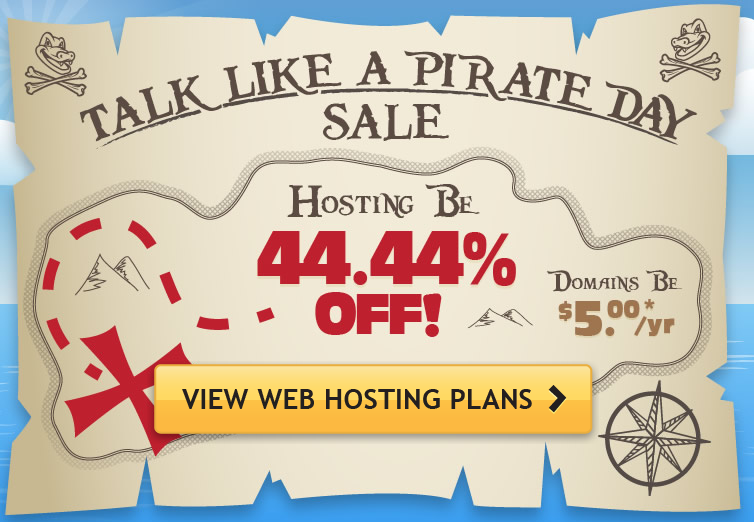 Talk Like a Pirate sale